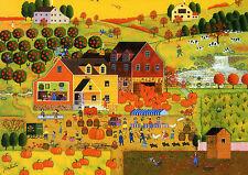 1000Piece Jigsaw Puzzle Pumpkin Farm Hobby Home Decoration DIY