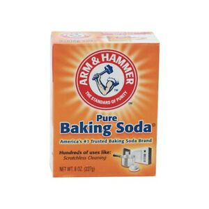 Arm & Hammer Pure Baking Soda 8OZ (227g) | For Hundreds Of Cleaning | Free UK