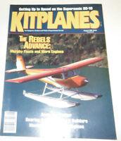 Kitplanes Magazine The Rebels Advance August 1992 080514R