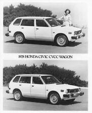 1978 Honda Civic CVCC Station Wagon Press Photo 0006