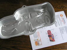 Wilton Disney CARS LIGHTNING McQUEEN Cake Pan Mold #2105-6400 w/ Instructions