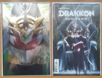Boom Studios Power Rangers Drakkon New Dawn w/Foil Set #1&2 Comic Pink Slayer NM