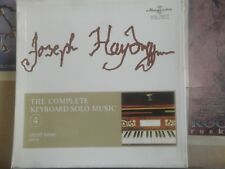 HAYDN COMPLETE KEYBOARD SOLO MUSIC - HUNGAROTON 3 LP SLPX 11625-27
