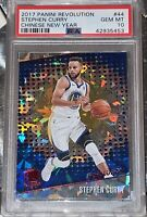 2017 Stephen Curry PANINI REVOLUTION CHINESE NEW YEAR REFRACTOR #44 PSA 10 BGS
