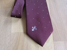 Don LOPER Beverley Hills SWAN Logo Dotted Pattern Tie