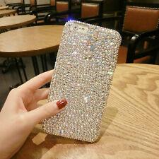 3D Fashion Bling Diamond Crystal Rhinestones Jewelled Hard Back Phone Case Cover