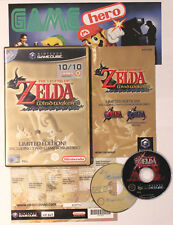 THE LEGEND OF ZELDA THE WIND WAKER LIMITED EDITION GAMECUBE PAL OCARINA OF TIME!
