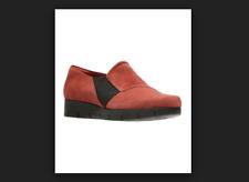 Clarks Artisan Suede Slip On Shoes Daelyn Monarch Rust Women's 9 New