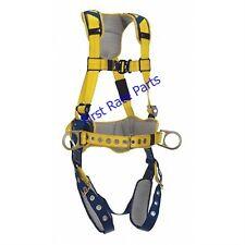 DBI-SALA 1100797 Full Body Harness Delta Comfort Padded 420 lb Safety Large 3M