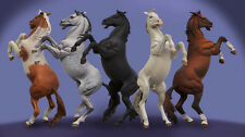 Andrea Miniatures Bare Caballo (uno Solo) 54mm sin pintar KIT de caballo