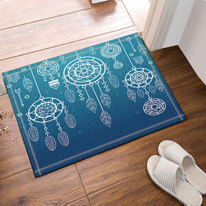Flannel Bath Mat Non Slip Absorbent Floor Carpet mat Bedroom mat Rug 40x60cm