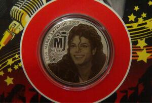 25 rubles Michael Jackson American singer King of Pop UNC