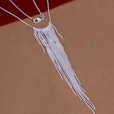 XMAS wholesale free shipping sterling solid silver chain necklace YN618 +box