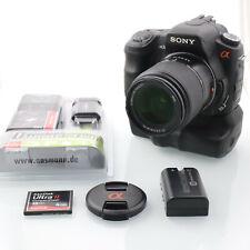 Sony Alpha A200 mit DT 18-70mm und Hochformatauslöser/ Handgriff