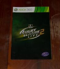 Rugby League Live 2 - Xbox 360 Booklet Only