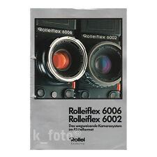 ROLLEIFLEX 6006 6002 * prospetto