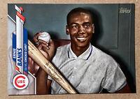 Ernie Banks SP 2020 Topps Series 1 Short Print Chicago Cubs #253