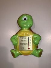 Bathometer 1972 Miller Studio Inc Turtle Tortoise Thermometer