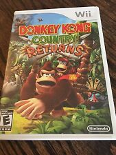 Donkey Kong Country Returns Nintendo Wii Cib Game Complete RS NG6