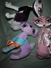 "3 Bratz Petz Cats MGA Poseable 9"" Plush Soft Toy Stuffed Animal"