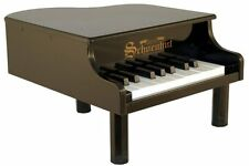 NEW Schoenhut 18 Key Mini Grand Piano - BLACK - Free Fast Shipping