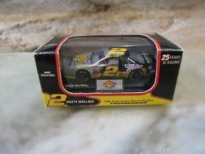 Rusty Wallace #2 Race Day 1996 FORD Thunderbird Miller 25th Anniversary 1/64