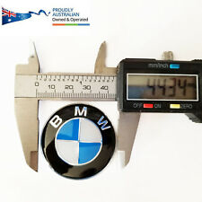 45mm BMW Car Blue Steering Wheel Badge Logo Emblem Decal E60 E39 F01 E36 E87