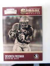 Devonta Freeman 2016 Panini Contenders Old School Colors Falcons / FSU Seminoles
