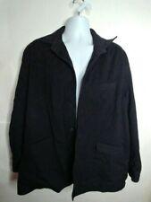 FACONNABLE MEN'S WOOL JACKET coat XL black