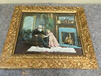 Print in Antique Gilt Frame