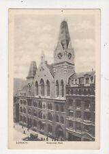 London Memorial Hall Vintage Postcard 546a