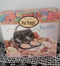 BREVILLE PIE MAGIC, PIE MAKER, MAKES 2 PIES, IN BOX
