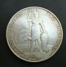 More details for uk 1905 florin edward vii british silver florin ref spink 5981 cc2