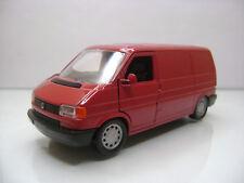 Diecast Schabak Volkswagen Transporter 1:43 No.1065 Red Mint in Box