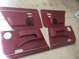 Jaguar XJ6 Vintage Door Panel Set