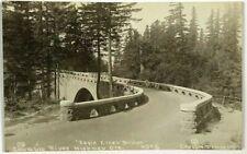 RPPC Eagle Creek Bridge Columbia River Highway Oregon OR Photo AZO Postcard