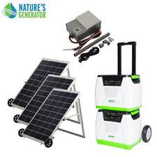 Nature's Generator 1800W Solar & Wind Powered Generator - PLATINUM-PE System