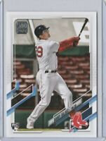 2021 TOPPS SERIES 1 BOBBY DALBEC #26 BOSTON RED SOX ROOKIE RC FREE SHIPPING