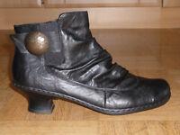 Rieker Damen Schuhe Stiefeletten Boots Gr. 39(6) Top-Zustand!