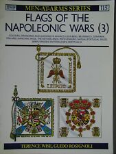 Osprey FLAGS of the NAPOLEONIC WARS (3): Colours, Standards & Guidons  NEW