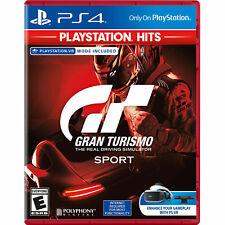 PLAYSTATION 4 GRAN TURISMO SPORT (PlayStation 4 PS4 VR) Brand New Sealed