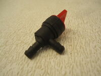NEW Fuel Cut Off Shut Off Valve In Line Pet Cock Lawn Mower Push Mower 90 bend