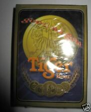 Brand New! Sale! Collectible Tiger Beer Good as Gold Playing Poker Cards