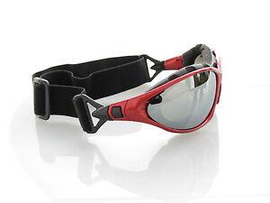Ravs Sportbrille - Sonnenbrille - Radbrille- Kitebrille -  mit Band und Bügel