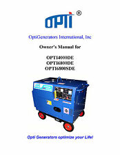 Color Owner's Manual 178F 178FE 186F 186FE 186FA 186FAE Diesel Engine Generator