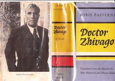 DOCTOR ZHIVAGO / By BORIS PASTERNAK hc/dj 1958 1st ENG