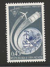France Scott #1347, Single 1972 Complete Set FVF MNH
