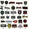 PUNK ROCK MUSIC MOVIE GOTH MUSIC METAL EMO GOTH EMBROIDERED IRON/SEW ON PATCHES