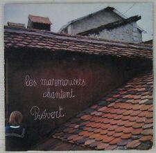 Les Marmousets chantent Prévert 45 tours Chœur d'enfants de Fribourg