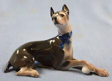 Figur Dobermann Rasse Bronze Metallobjekte